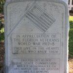 World War 1, Stone Monument
