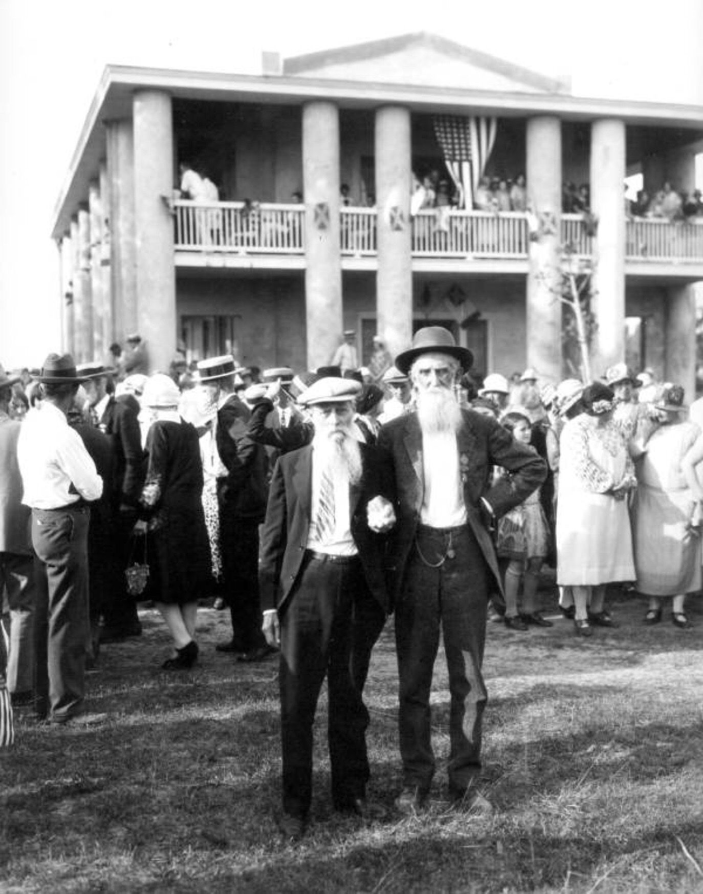 Gamble Mansion 1927 Confederate Reuion