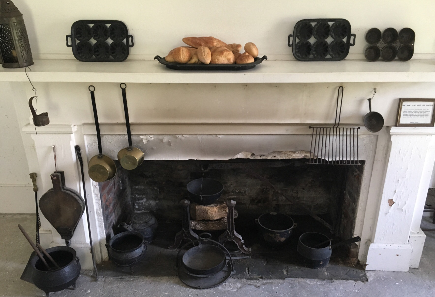 Gamble Mansion's Kitchen