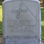 Memorial Dedicated To Confederate Veterans