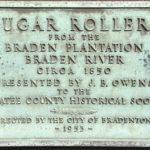 Sugar Rollers, Circa 1850 Plaque