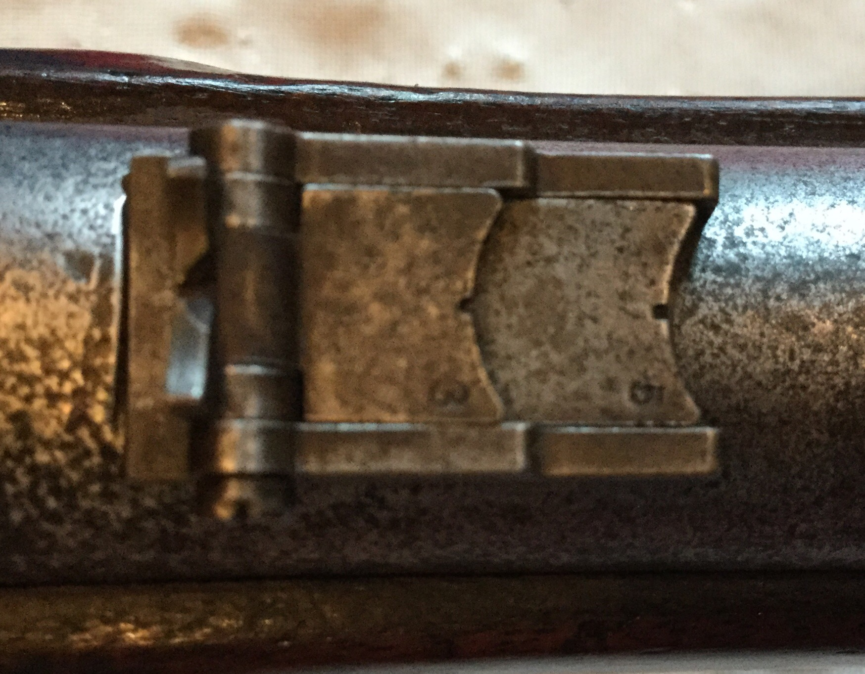 1863 Fayetteville Rifle Rear Sight