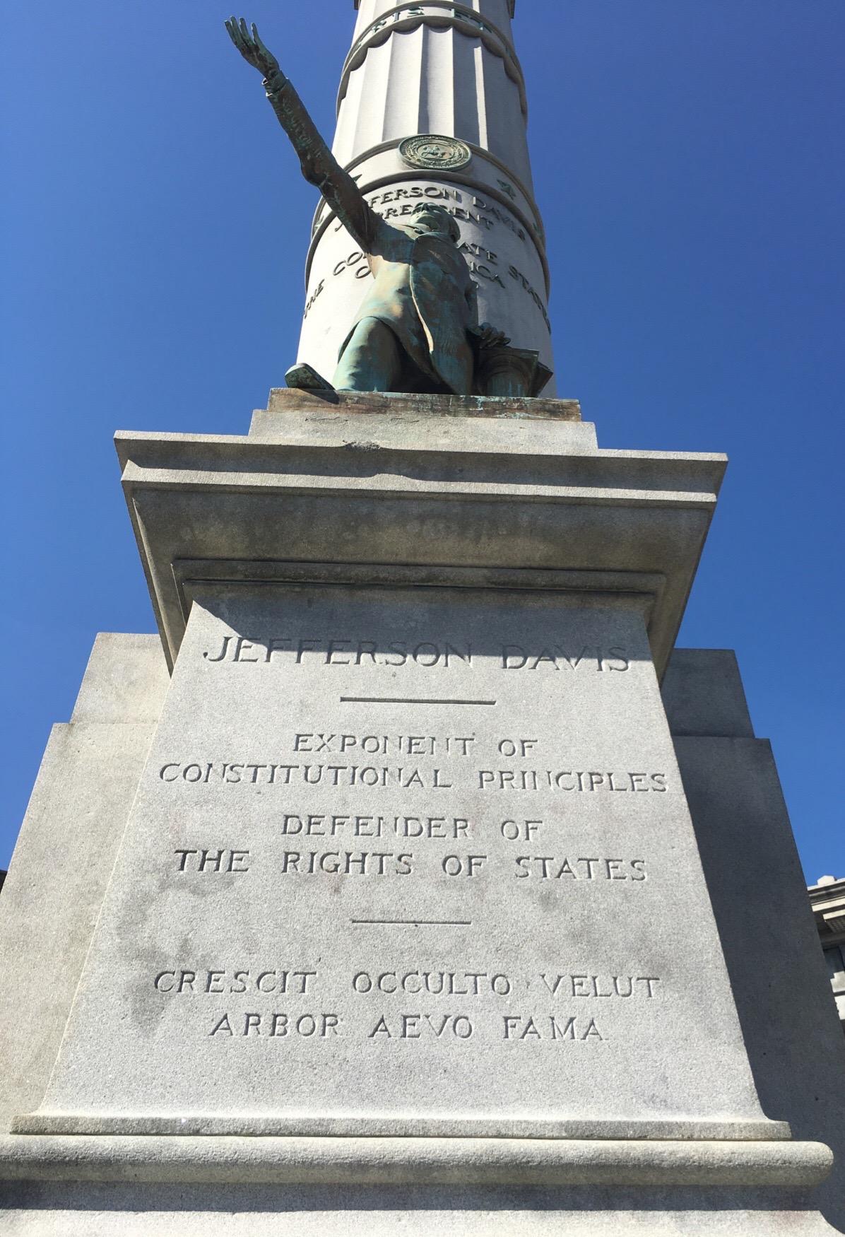 Defender Of States Rights, Jefferson Davis