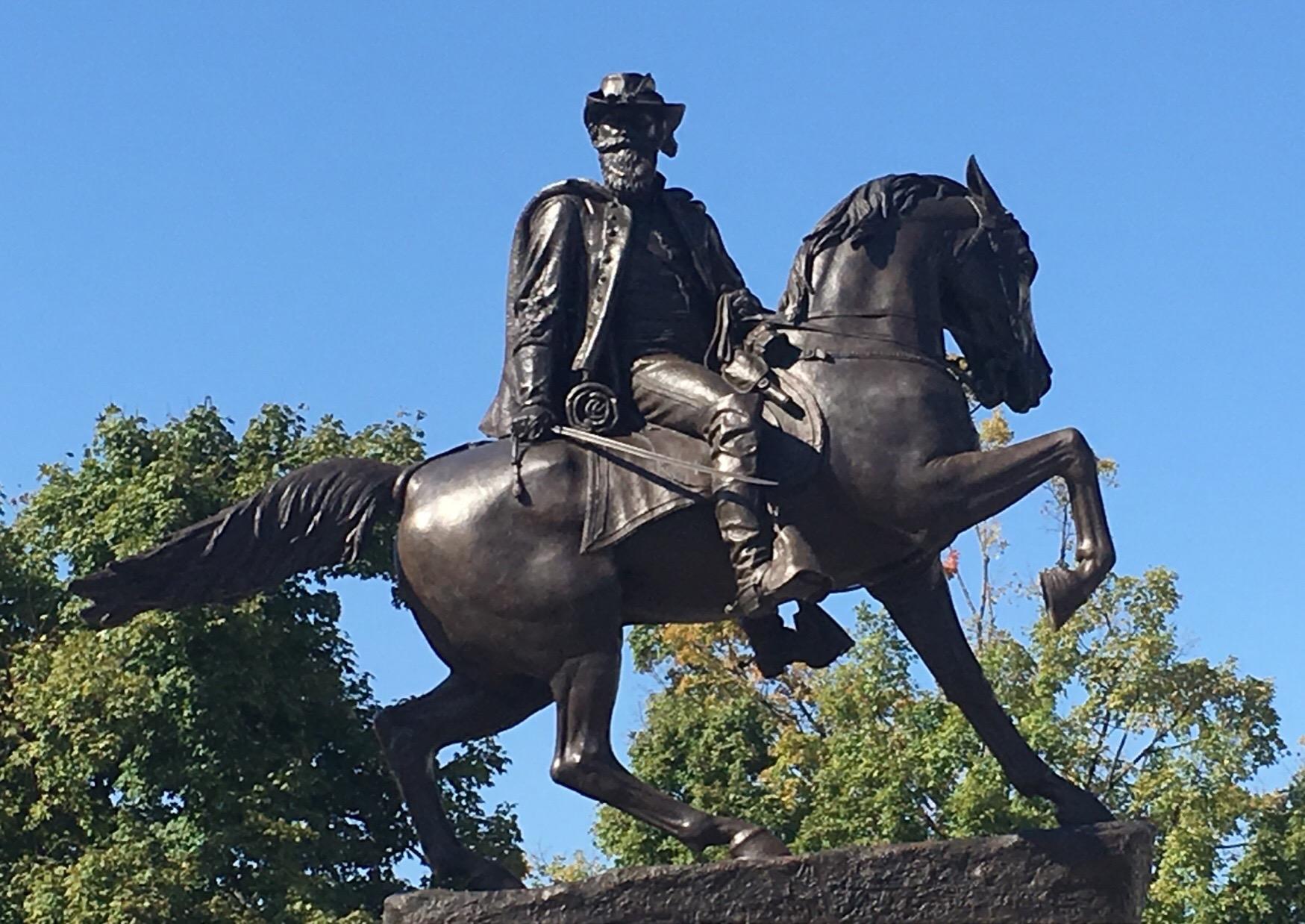 J.E.B. Stuart Monument, Monument Avenue Richmond Virginia