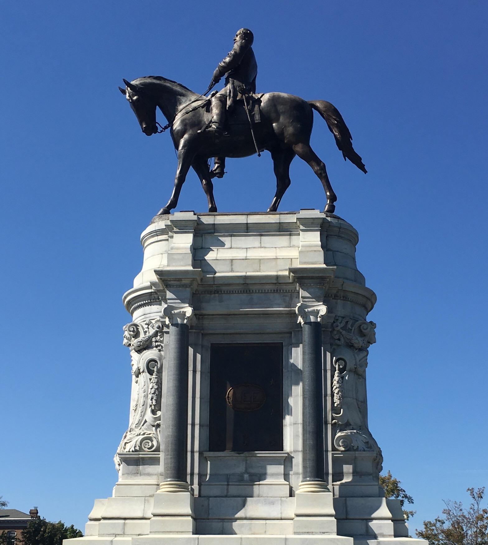 Robert Edward Lee Monument, Richmond Virginia