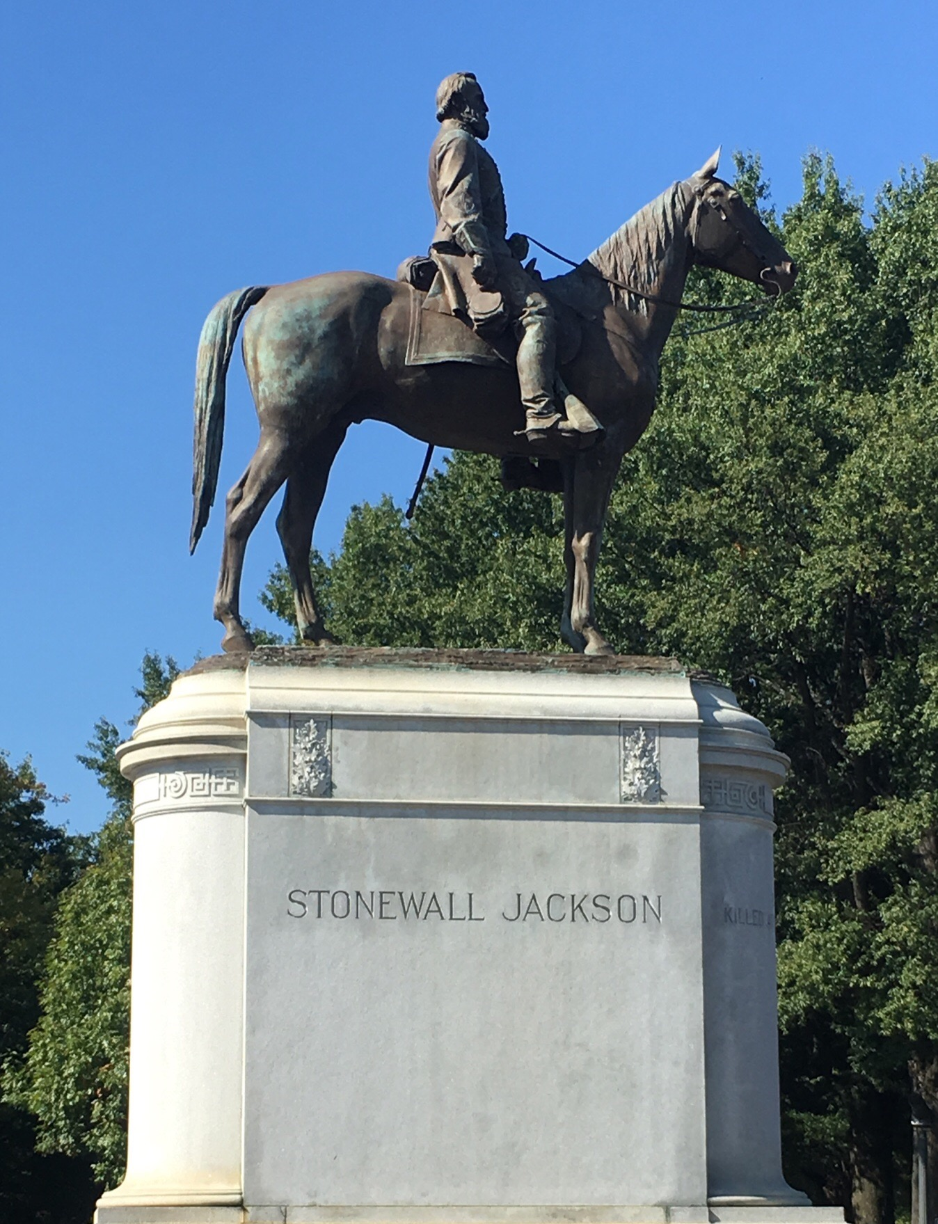"Thomas ""Stonewall"" Jackson Monument, Richmond Virginia"