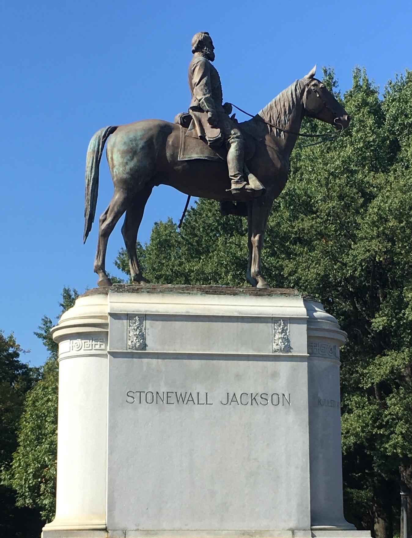 """Thomas """"Stonewall"""" Jackson Monument, Richmond Virginia"""