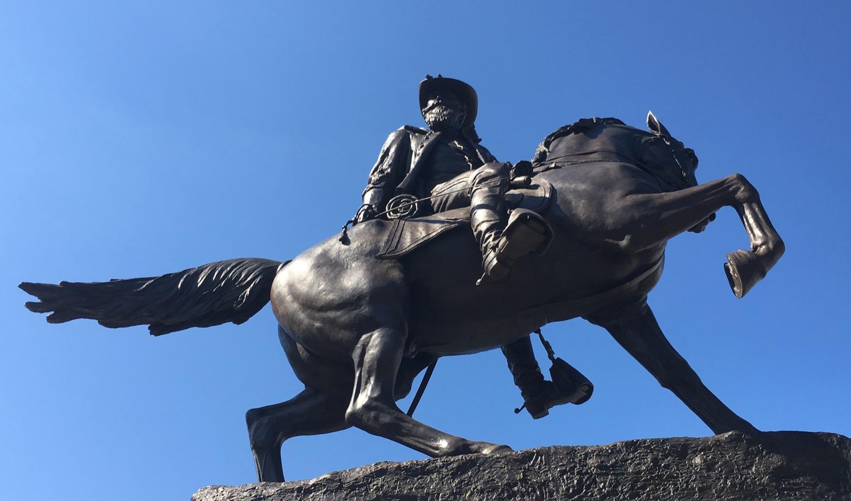 J.E.B. Stuart Bronze Monument, Richmond Virginia