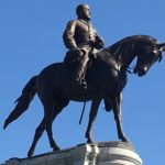 Robert E. Lee Bronze Monument, Richmond Virginia