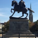 "J.E.B. Stuart & Horse ""Virginia"", Monument Avenue Richmond Virginia"