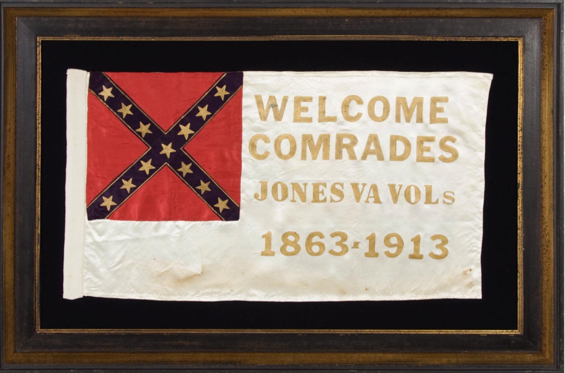 Civil War Reunion Flag, Jones Brigade