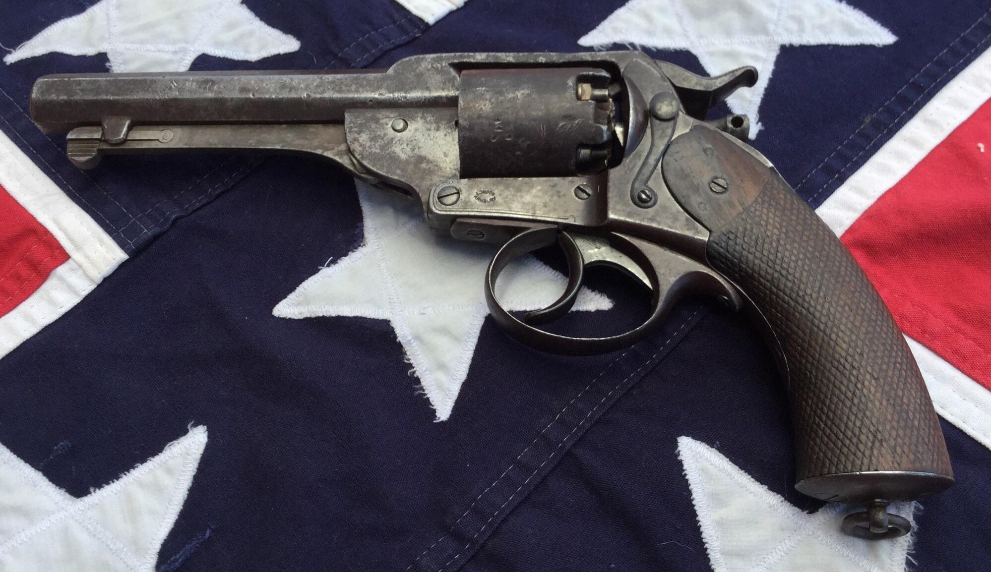 Kerr Revolver, Left Side