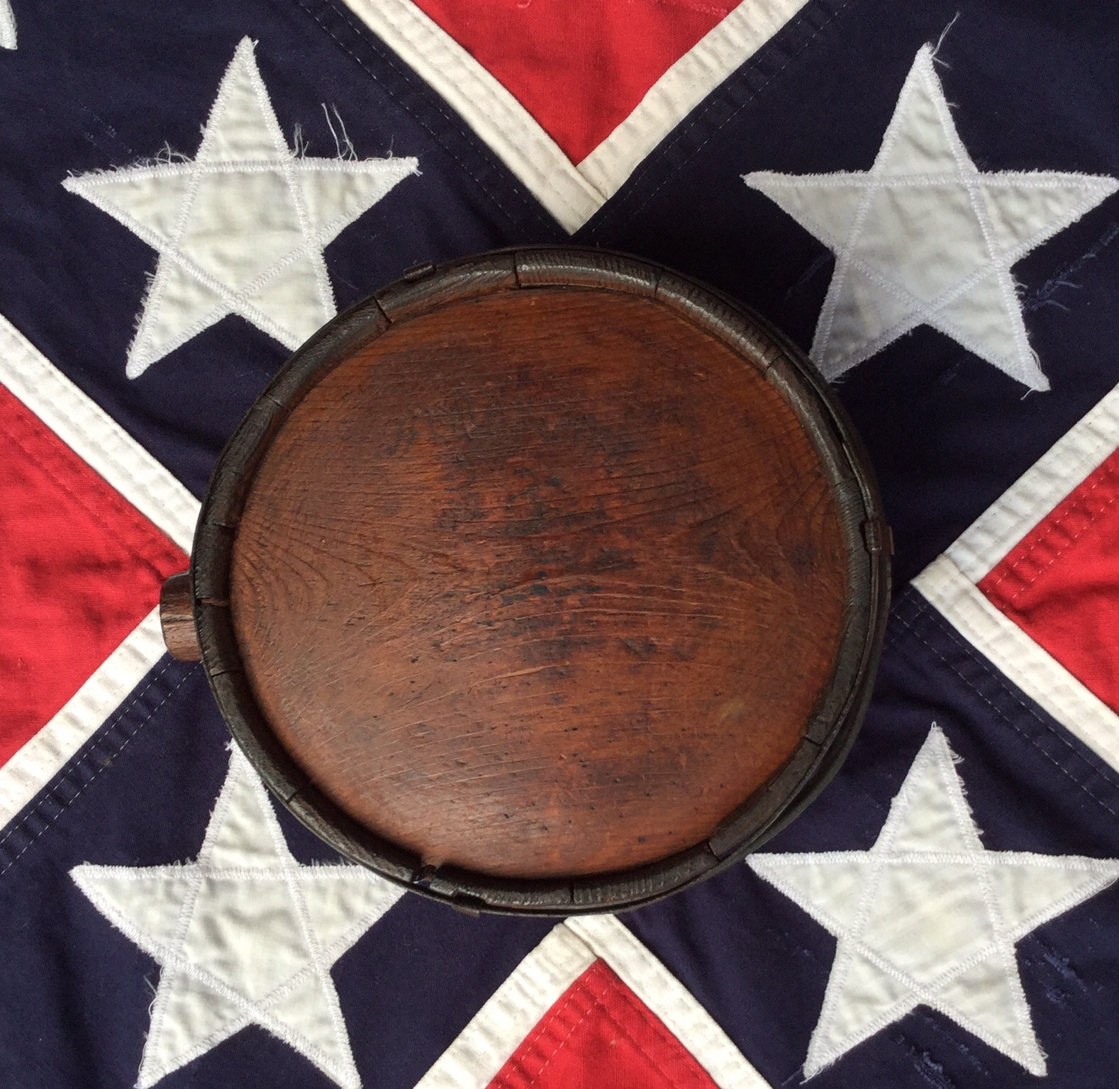 Confederate Drum Canteen
