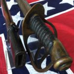 Southern Cavalry Saber, Guard & Grip