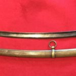 Confederate Artillery Saber and Scabbard