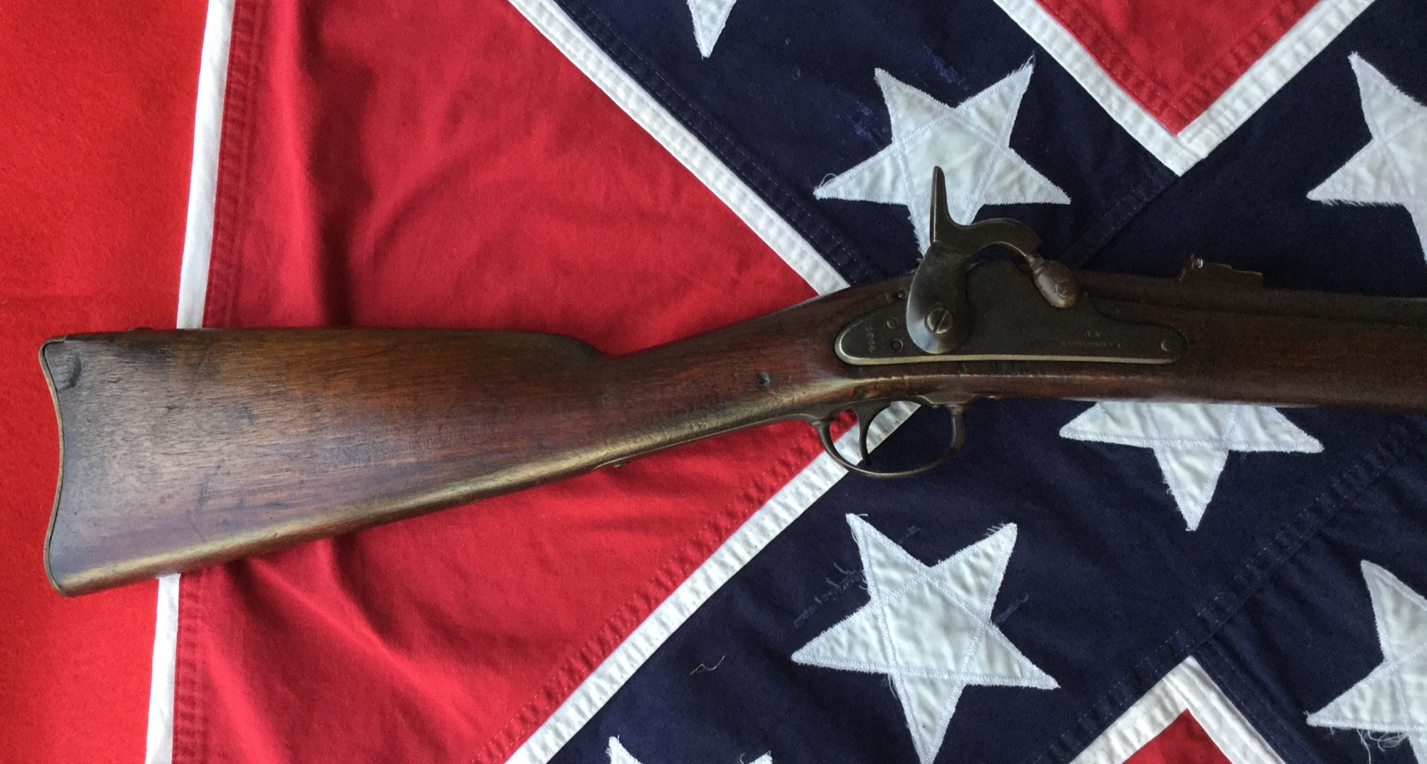 1864 Richmond Shoulder Stock
