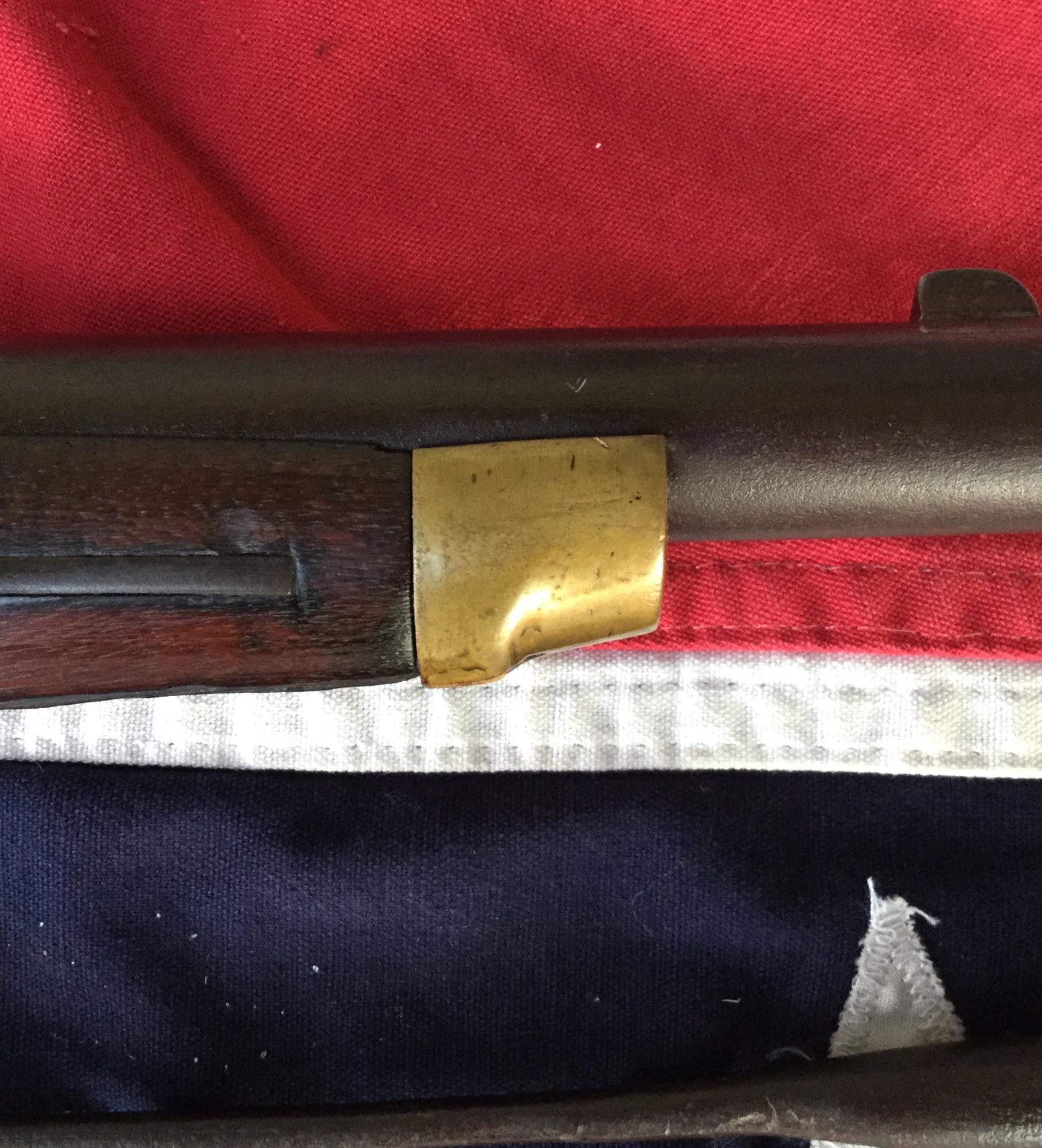 Richmond Carbine Brass Nose Cap