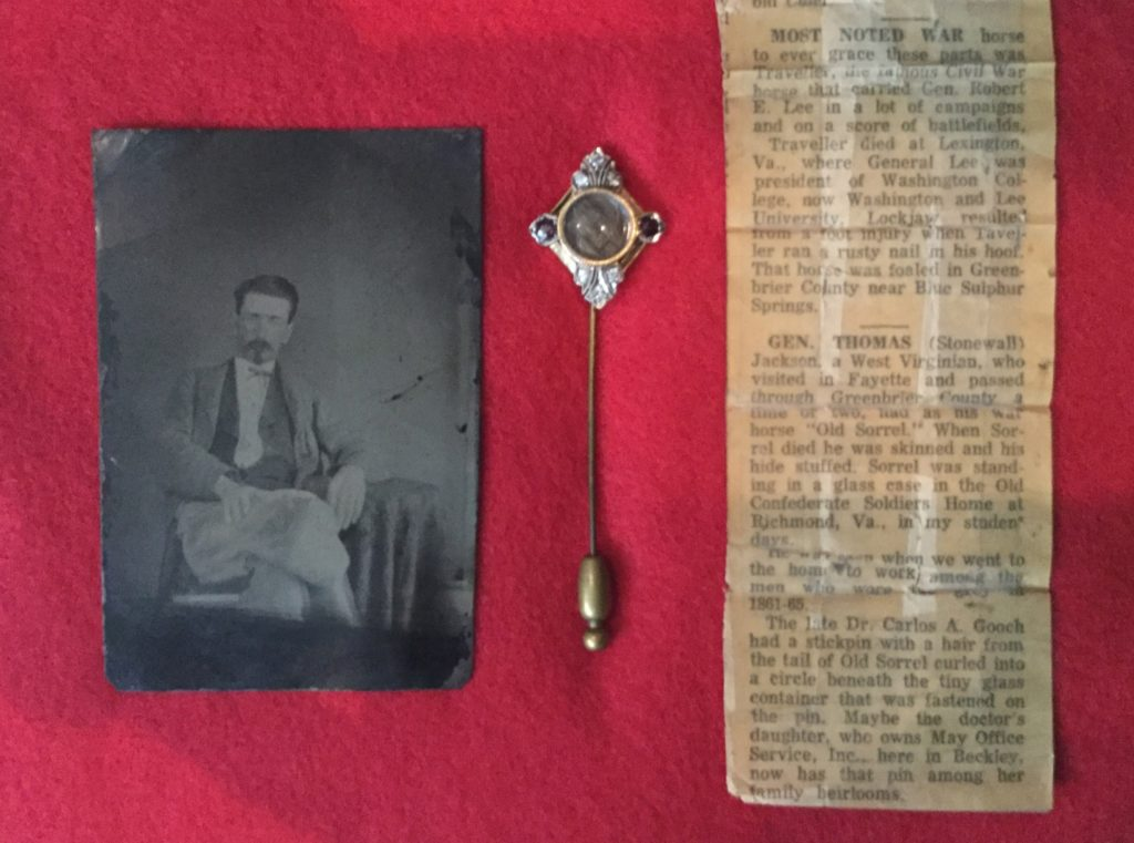 Benjamin Gooch, Stickpin & Newspaper Article