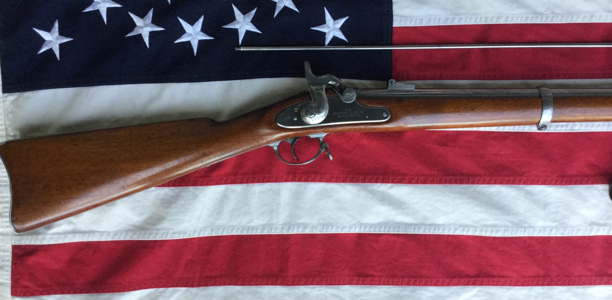 Colt Model 1861 Rifle Musket, Shoulder Stock