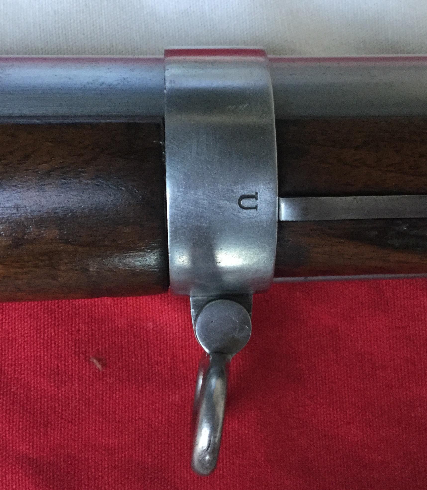 Forward Barrel Band Model 1855 Harper's Ferry Rifle