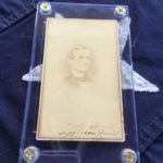 Jefferson Davis Signed CDV
