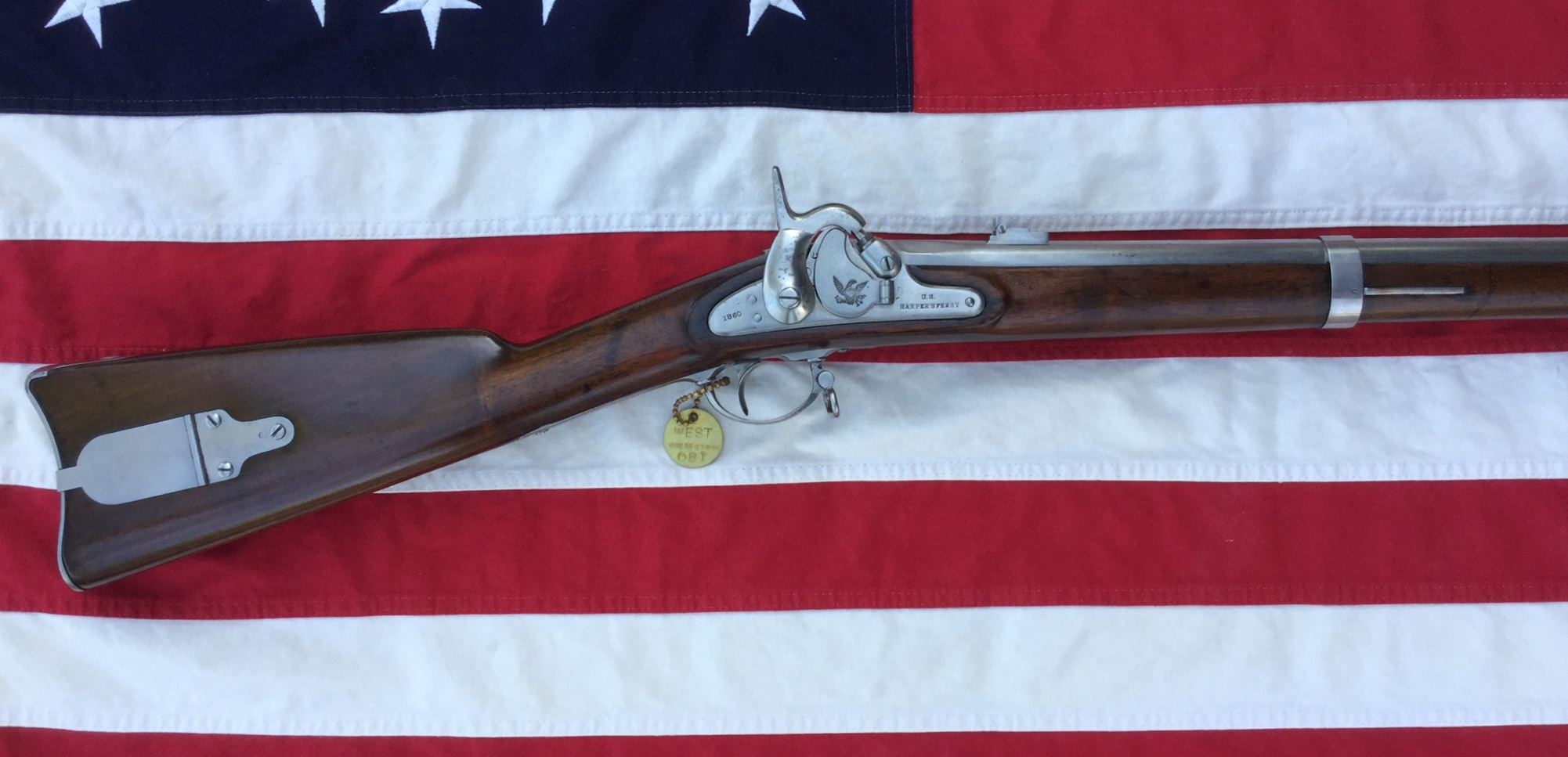 Model 1855 U.S. Percussion Rifle Shoulder Stock