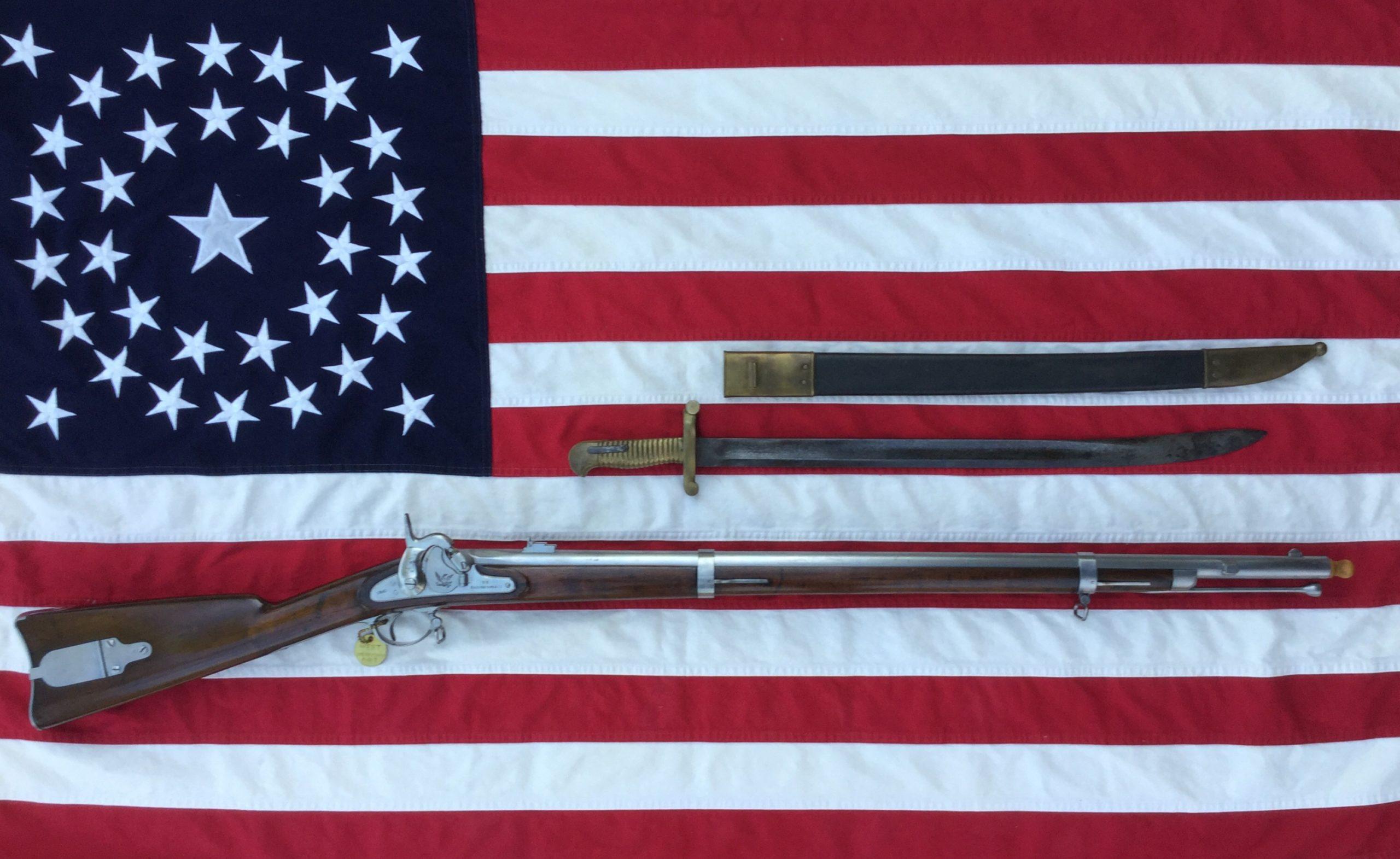 Model 1855 U.S. Percussion Rifle, 1860 Harper's Ferry Rifle