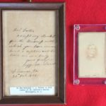Jefferson Davis Letter & Signed CDV