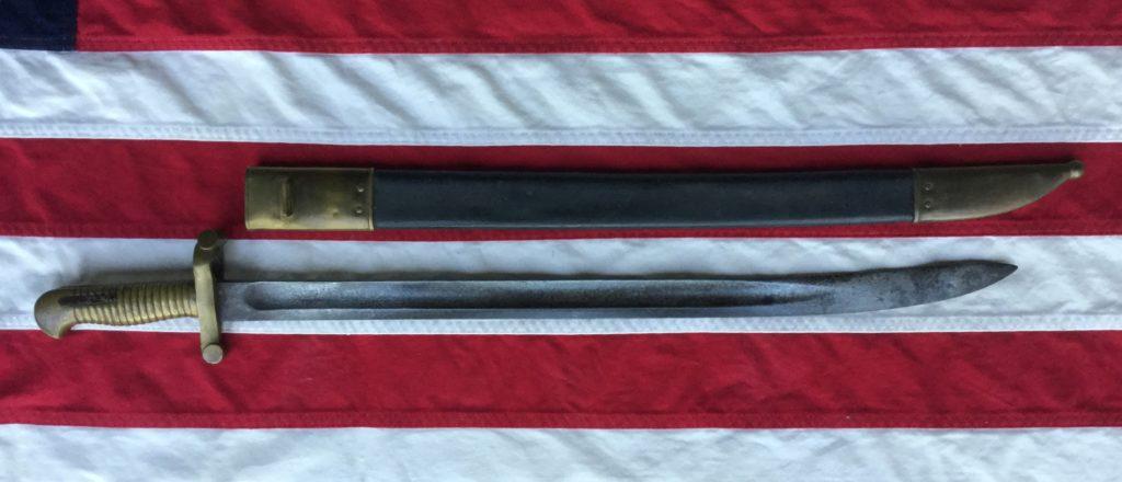 Harper's Ferry Saber Bayonet & Scabbard