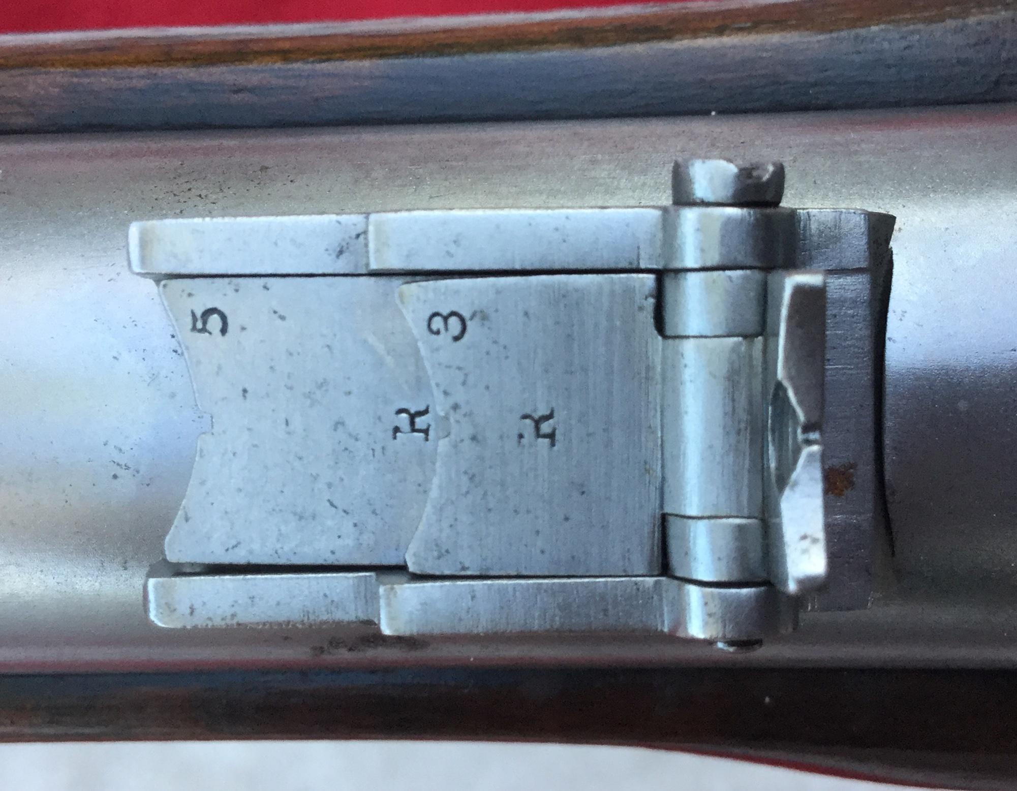 Harper's Ferry Rifle Rear Sight