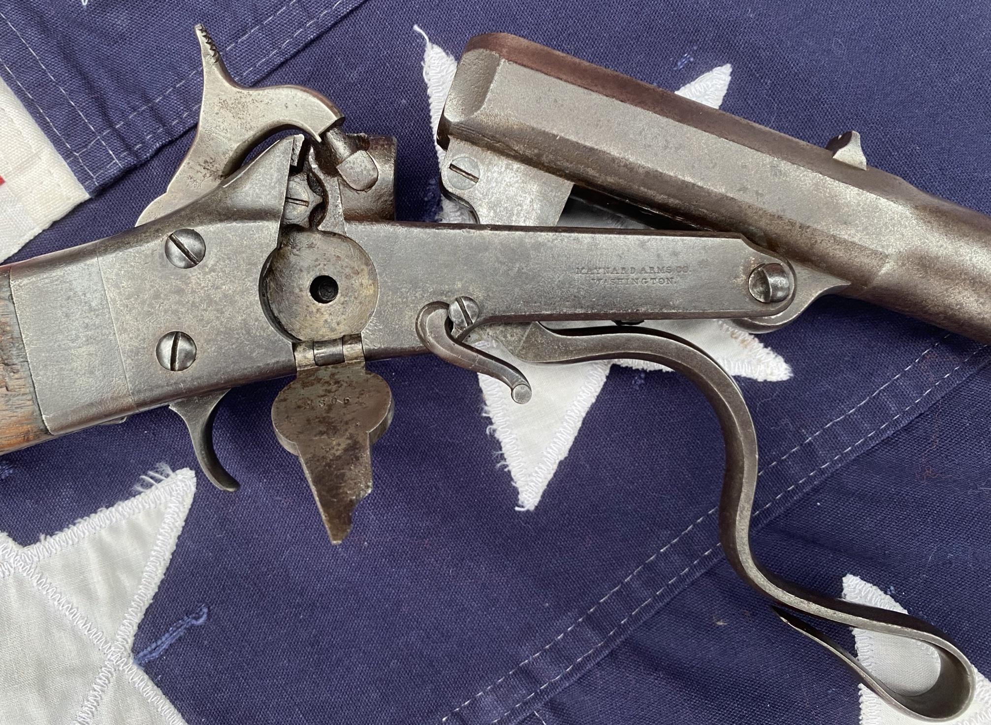 Maynard Carbine Primer Tape Compartment