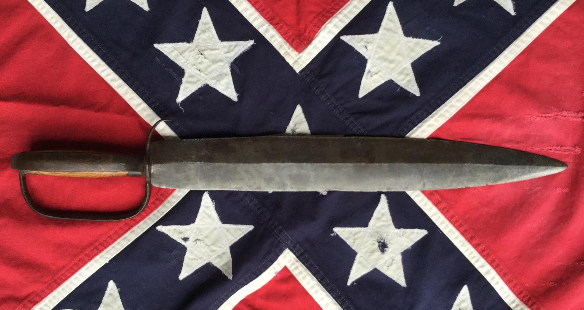 Double D-Guard Bowie Knife